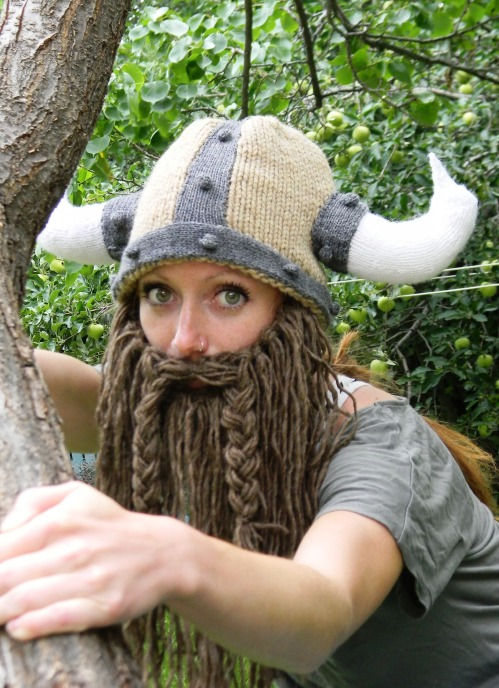 Bearded Viking Helmet