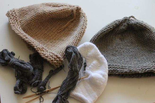 Bearded Viking Helmet - in the making