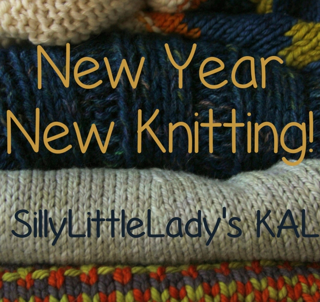New Year new knitting kal badge
