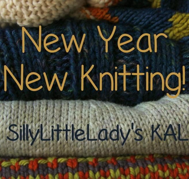 New Year new knitting kal badge